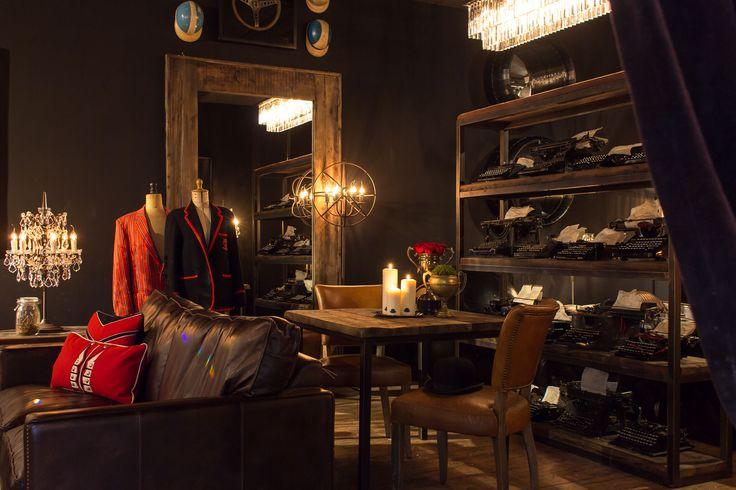 The Gentlemans Room Designmobel Der Britischen Kultmarke Im Timothy Oulton Flagship Store Wohnen Haus Design