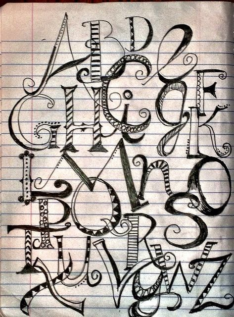 creative fonts alphabet - Google Search