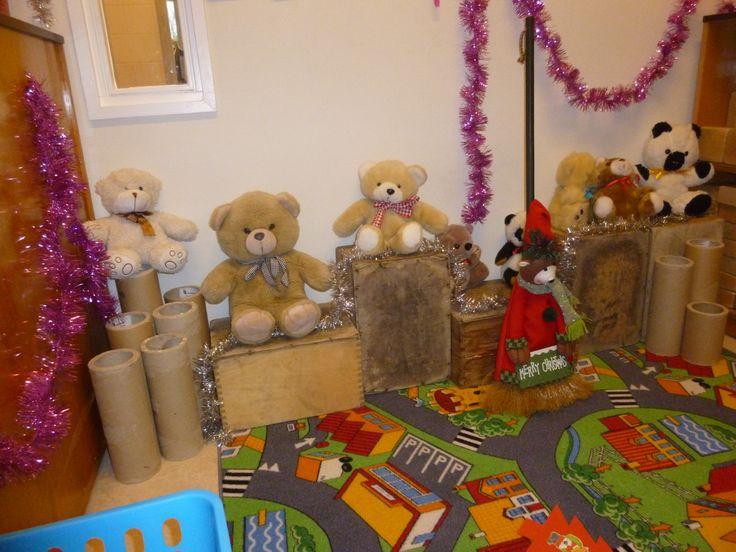 De kerstberenwinkel.