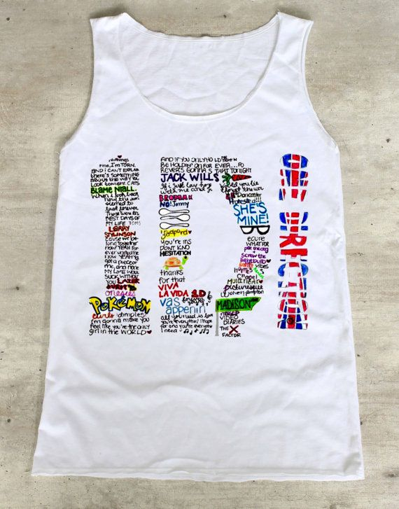 1D Shirt One Direction Shirts Top Tank Top Tee by WinterIszComing, $16.00