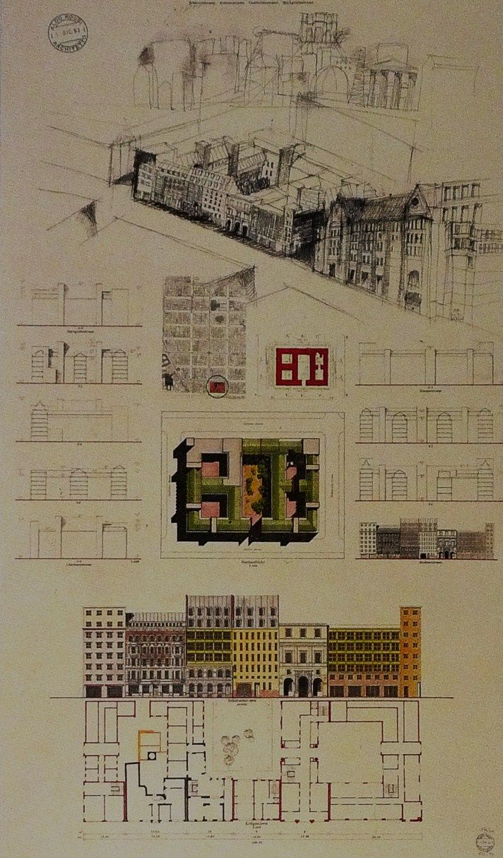 Aldo Rossi | Quartier Schützenstrasse | Berlin; Alemania | 1994–98