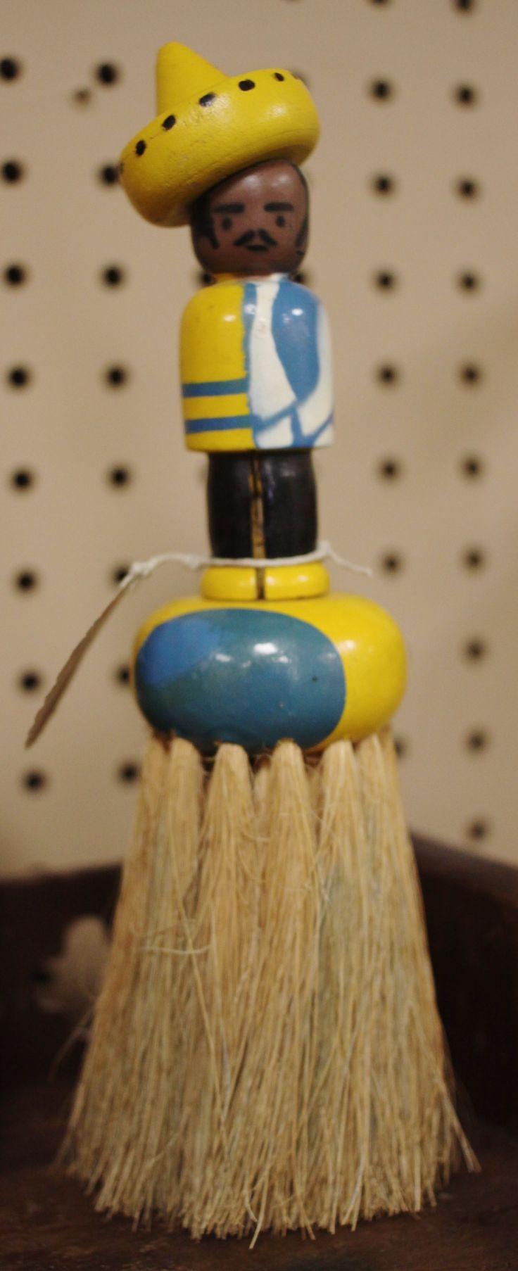 Vintage Table Crumb Brush At Homestead Handcrafts, San Antonio, Texas.