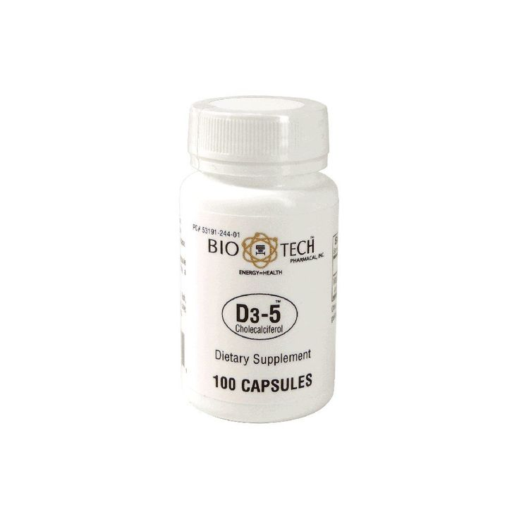 D3-5 (5000 IU) - Bio-Tech Pharmacal - 4 If Vitamin D3 levels test low when family gets tested- try this recommended by the vitamin D council