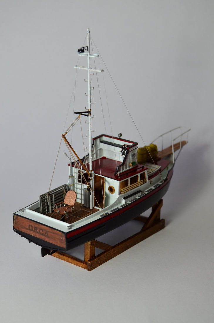 Orca Ship Model Jaws Related Repin With Images Model Ships