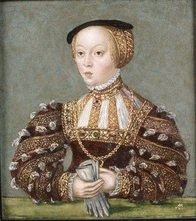 Miniatura Elżbiety Habsburżanki....Małżeństwo nie było szczęśliwe. Młodziutka, niedoświadczona, nieśmiała i mało błyskotliwa Elżbieta nie pociągała króla. Sytuację pogarszała nieuleczalna choroba młodej królowej, epilepsja, co do reszty odstręczyło od niej małżonka. Przez cały okres trwania małżeństwa Zygmunt zdradzał żonę m.in. z Barbarą Radziwiłłówną.