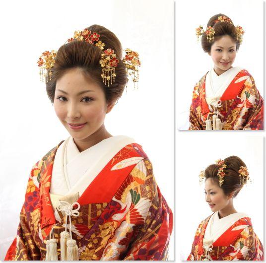 ├ 新日本髪の和装花嫁スタイル                                                                                                                                                                                 もっと見る