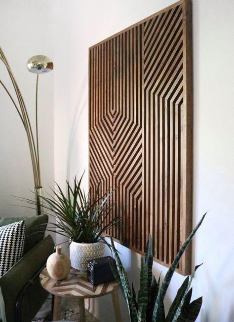 Geometric Wood Art, Geometric Wall Art, Wood Wall Art, Wood Art, Modern Wood Art, Modern Wall Art, R
