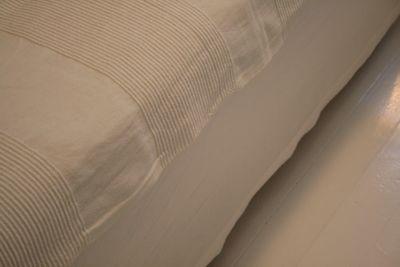 simple bed skirt tutorial