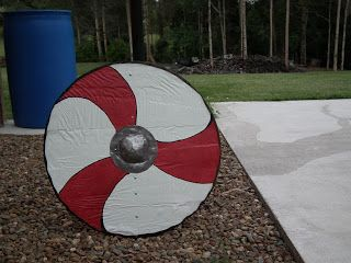 Re-creating Norse arms and armour.: How to make a Viking Shield