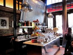 Best place to eat lunch and get drunk with your favourite girlfriends Locanda Verde - New York City.