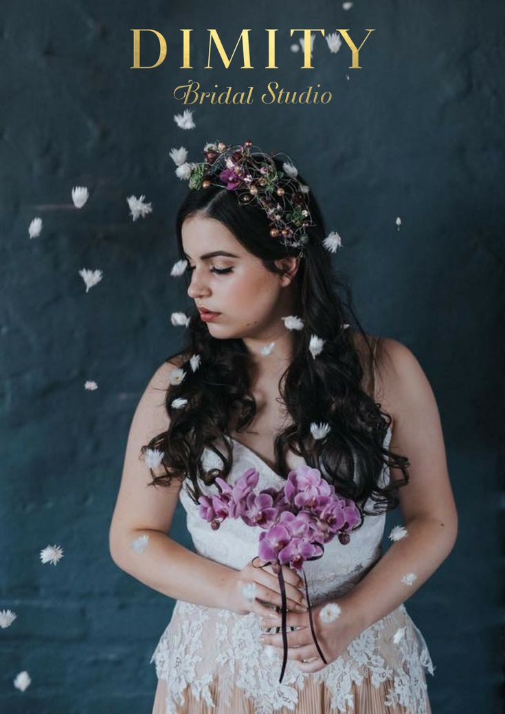 Gorgeous shot of an eco-friendly Dimity gown