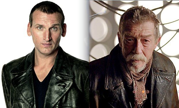 Steven Moffat finally reveals why John Hurt replaced Christopher Eccleston in the Doctor Who 50th anniversary special