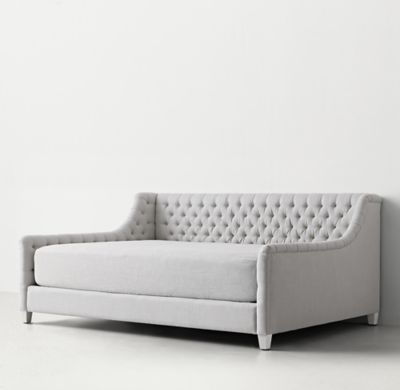 Sofas For Sale RH TEEN us Daybed Mattress Slipcover Our ingenious slipcover transforms any daybed mattress into an oversized