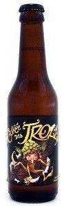 Cerveja Cuvée des Trolls, estilo Belgian Blond Ale, produzida por Dubuisson, Bélgica. 7% ABV de álcool.