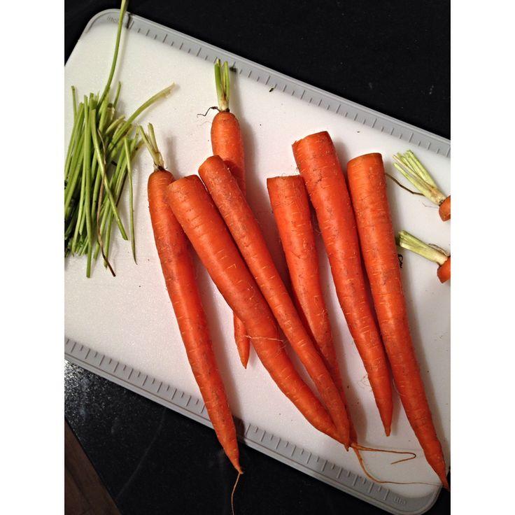 // sweet carrot fries \\
