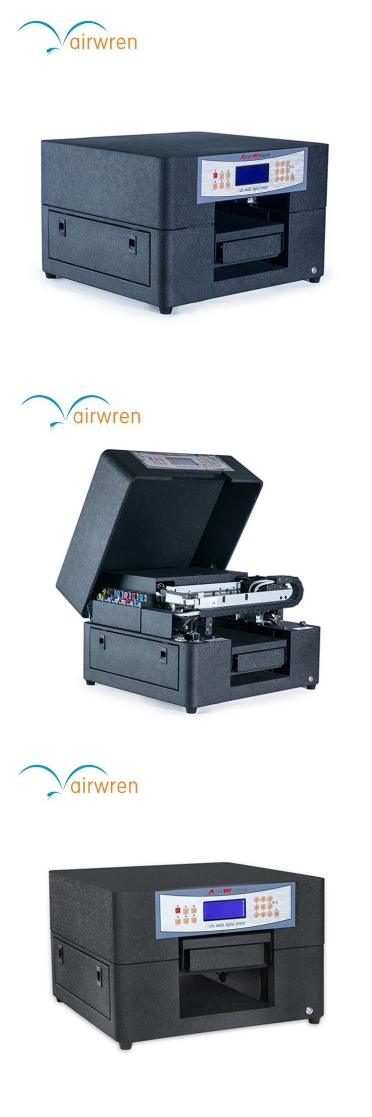 a4 size  LED UV Printer Flatbed Printer High Quality inkjet printing machine for dog tag
