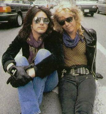 Gilby Clarke & Duff McKagan early 90's