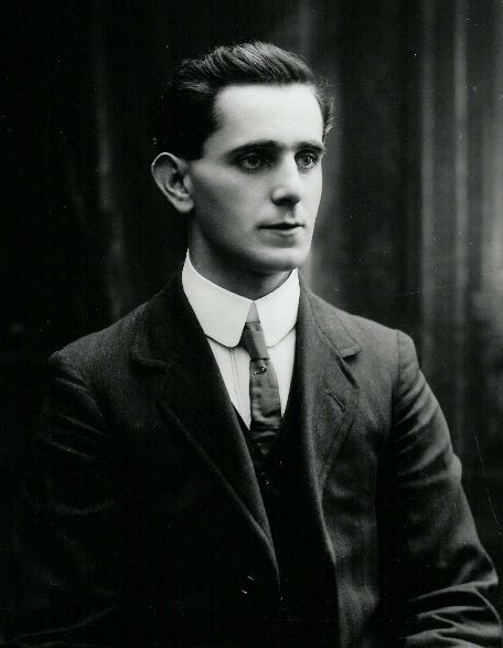 Seán Mac Diarmada (also known as Seán MacDermott), born in County Leitrim in 1884. One of the seven leaders of the Easter Rising of 1916. He was executed for his part in the Rising at the age of thirty-three.