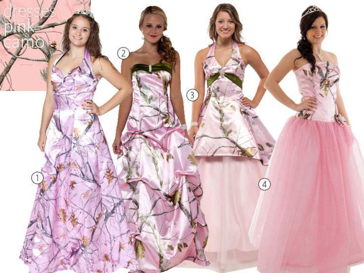 31 Camo Wedding Dresses and Bridesmaid Dresses   TheKnot.com                                                                                                                                                                                 More