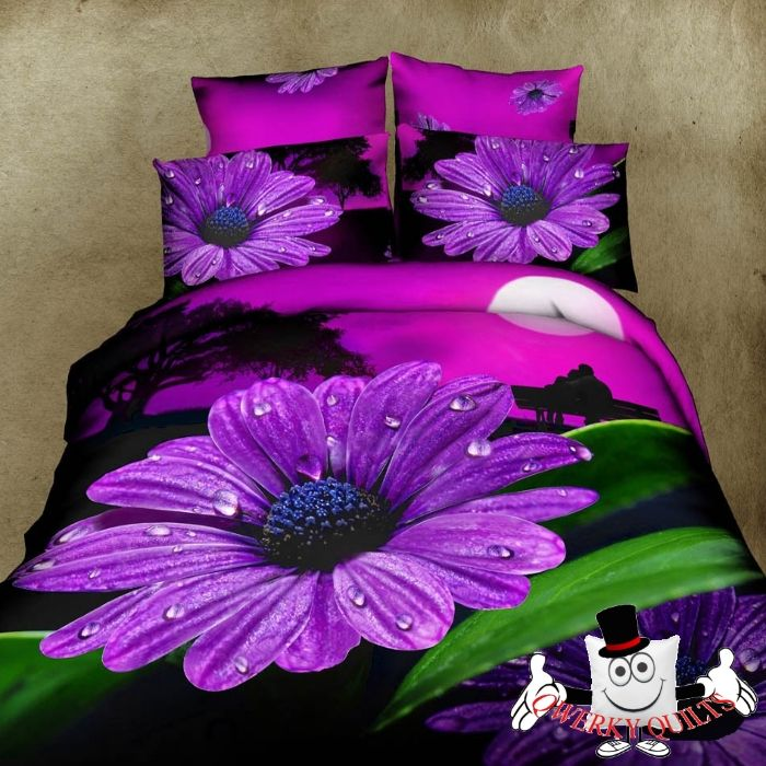 butterfly daisy quilt cover set butterflies kids girls bedding home
