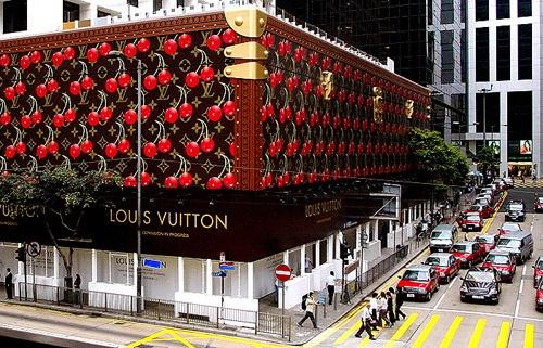 Louis Vuitton Trunk Store Front
