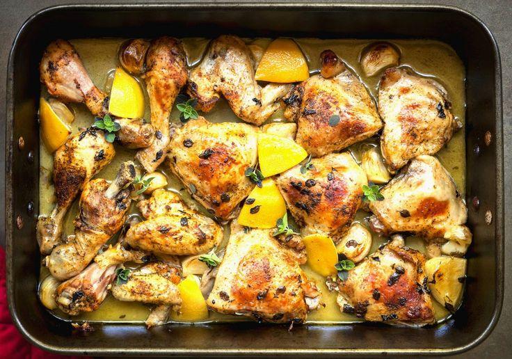 Pui în unt cu sos de lămâie | Retete culinare - Romanesti si din Bucataria internationala