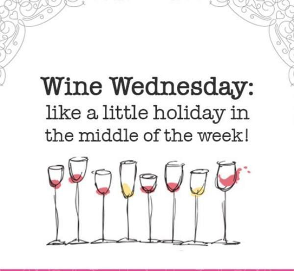 Image result for half price wine wednesday meme