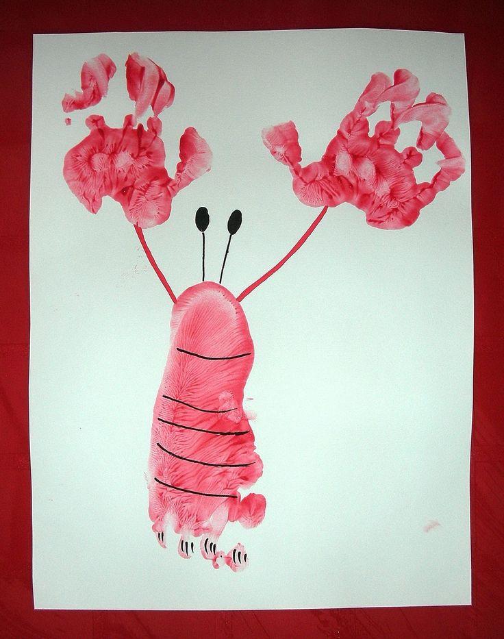 activité-ecrevisse-crabe-empreintes-bébé-mains-pieds-enfants-peinture-manuelle (2)