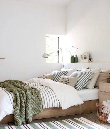 Die 25+ Besten Ideen Zu Kleine Schlafzimmer Dekorieren Auf ... Schlafzimmer Olivgrn