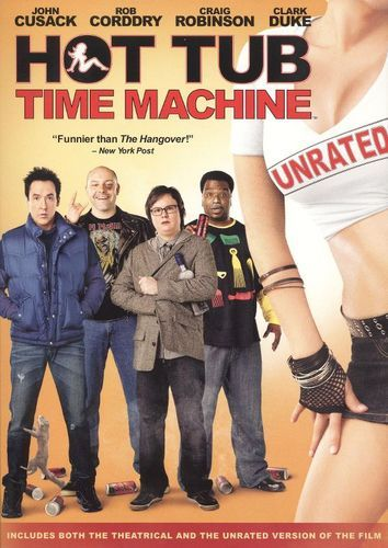 Hot Tub Time Machine [Unrated] [DVD] [2010]