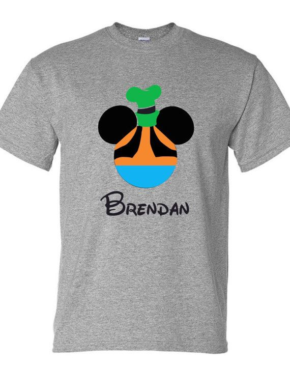 Oreilles de souris Goofy chemise/Fixney Goofy T-shirt/personnalisée Goofy Tshirt/Disney vacances cadeau chemises/mignon/Disney Cruise Vacation
