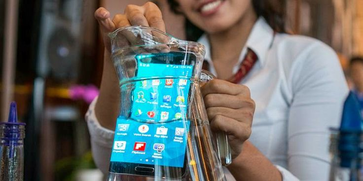 Galaxy Note 4 water-resistant