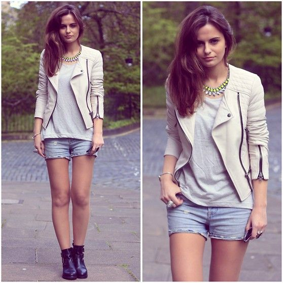 Boots & Shorts.. perfect match!! // Kooples (by Morven SW)