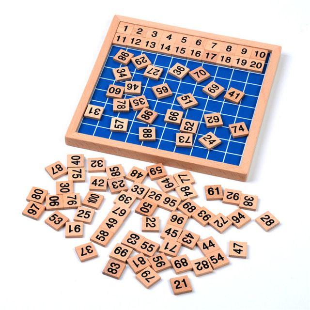 versin familiar de cien bordo matemticas montessori beb de juguete para niosu