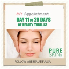 Win amazing prizes on www.bebeautifulsa/facebook.com LIKE us and follow us on Twitter and register on www.myappointment.co.za