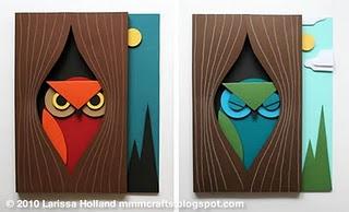 Tutorial: 3D owl art