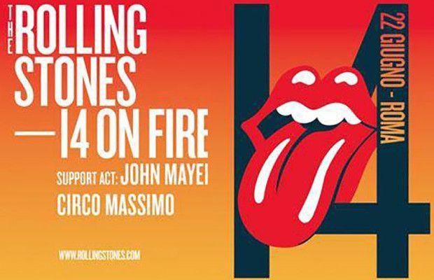 In vendita i biglietti del concerto dei Rolling Stones per il concerto del 22 giugno al circo massimo di roma