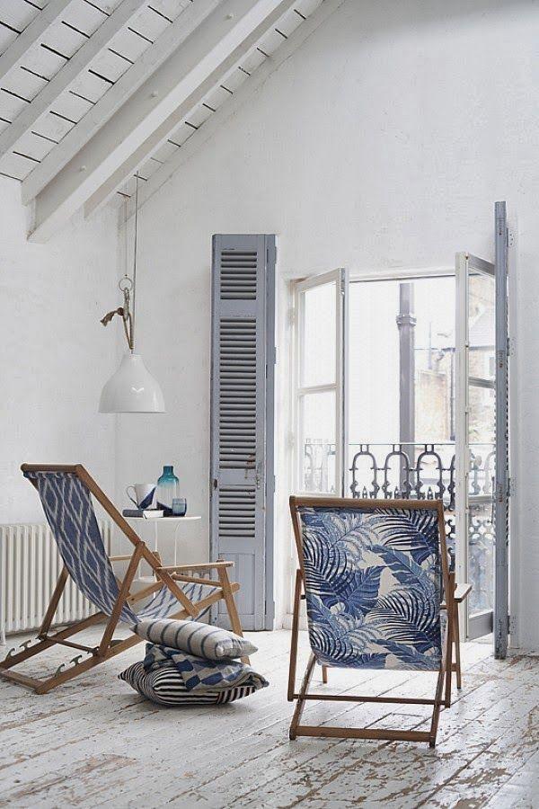 Стильный дом - Синие кружева Polly Wreford