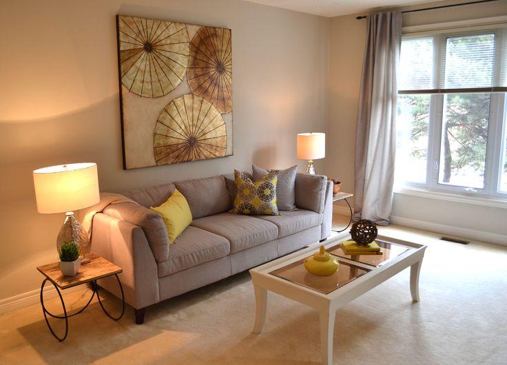 Staged Living Room Upstaging Home Staging Pinterest