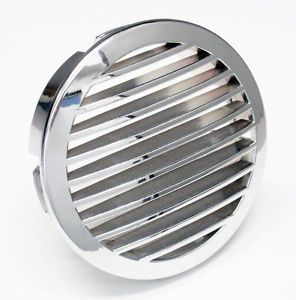 4 Quot Chrome Round Boat Blower Vent Grill Cover Larson