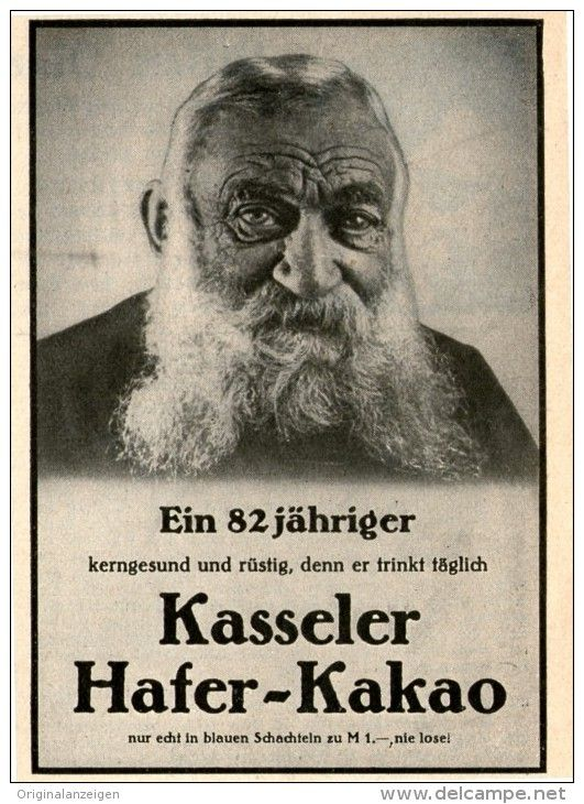 Original-Werbung / Inserat / Anzeige 1931 KASSELER HAFER-KAKAO - ca. 80 x 100 mm