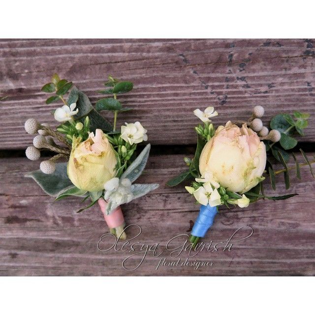 Бутоньерки для жениха и свидетеля | #olesyagavrishflowers #бутоньерка  #пионовидныерозы #свадьба #weddingday #weddinginspiration #instawedding #instaflowers #instabride #instamood #эксклюзивнаяфлористика #buttonhole