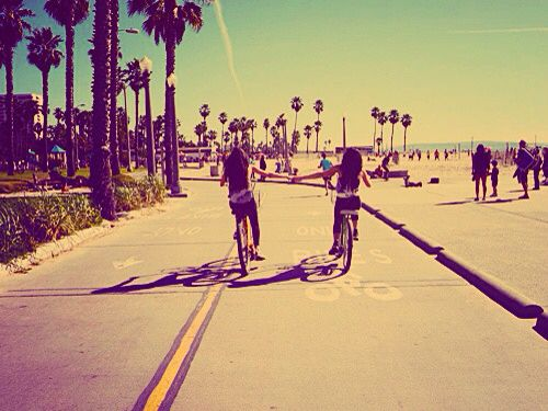 Those Bike Rides Along California Beaches With Your Besties