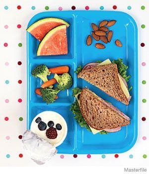 7 Healthy School Lunch Options. #lunch #school