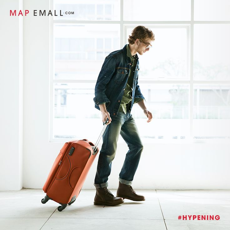 Plan your next trip with exquisite collections from Samsonite, TUMI, and many more only at www.mapemall.com! #Hypening now.