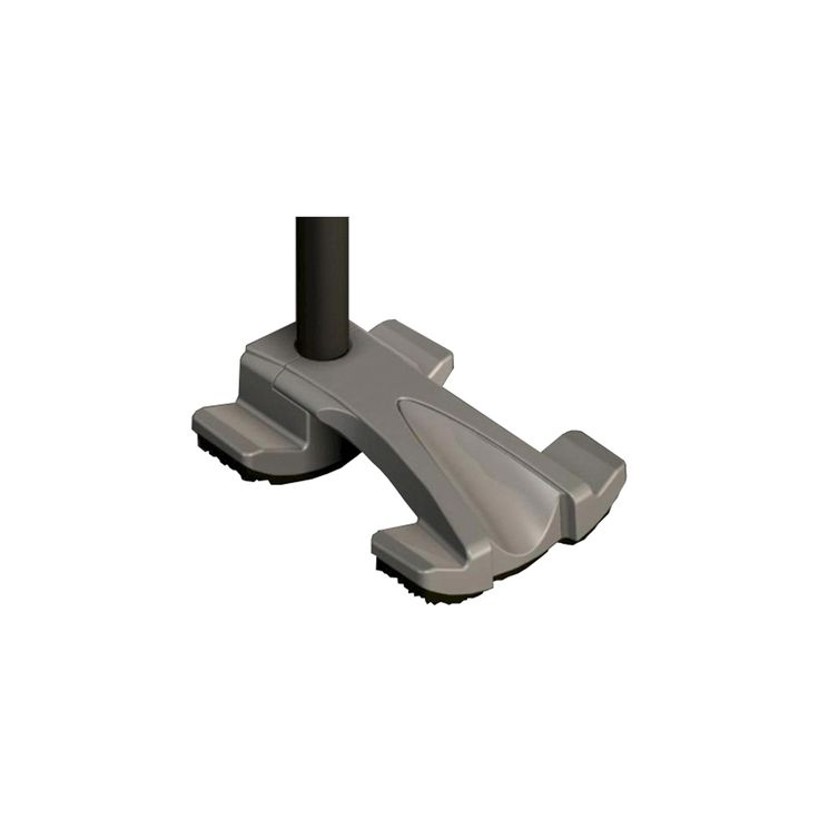 Stander Universal Tru-Stride Quad Cane Tip, Black