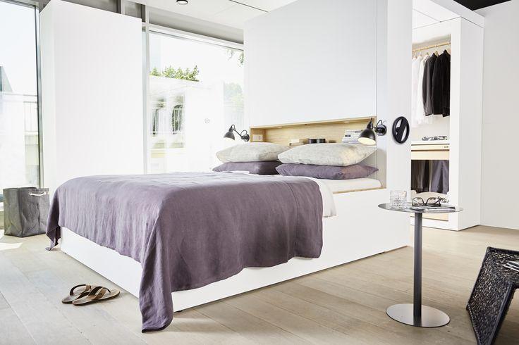 Ein Schlafzimmer Auf 5m Mit Einem Begehbaren Schrank   Der Clou   Dieser  Lässt Sich Verfahren