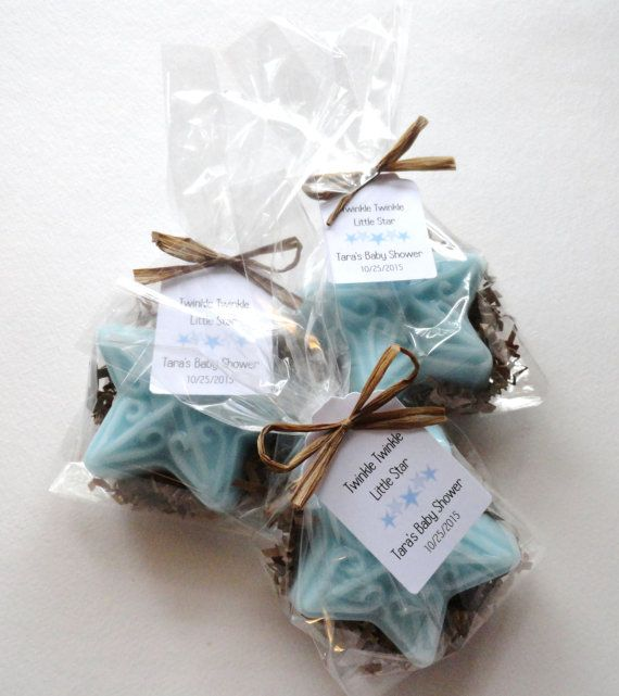 This listing is for Star Soap Baby Shower Soap Party Favors with Custom Tags. These party favors are perfect for a Twinkle Twinkle Little Star