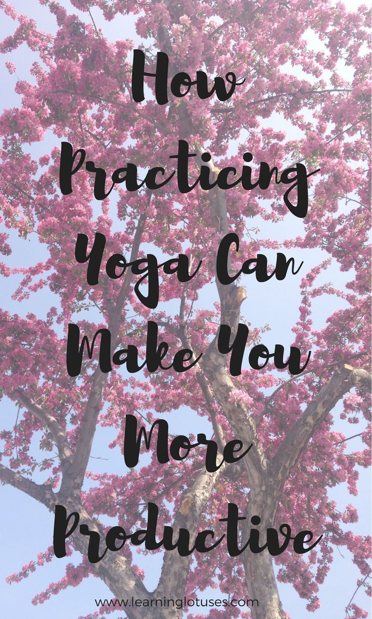 Can yoga really make you more productive?