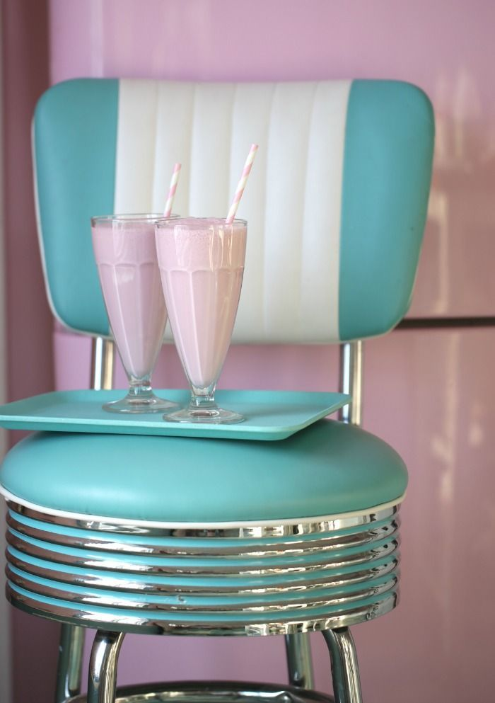 strawberry milkshakes …